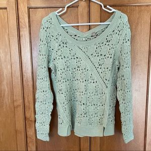 🩸50% OFF🩸 Anthropologie Knitted &Knotted Sweater